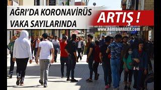 Ağrı'da Koronavirus vaka sayısında ciddi artış