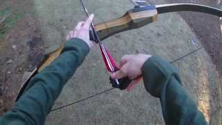 getlinkyoutube.com-Review: 35# Samick Sage Take-Down Recurve Bow (Great first bow!)