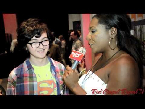 Moonrise Kingdom's Jared Gilman at GBK's 2013 MTV Movie Awards Celebrity Gift Lounge