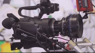 getlinkyoutube.com-BVE 2016: JVC GY-LS300 4K Super35 Camcorder and 1080p/120 Firmware Update