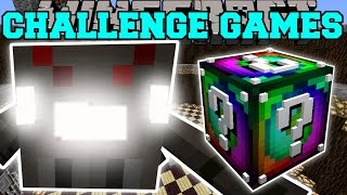 Minecraft: SPIDER TITAN CHALLENGE GAMES - Lucky Block Mod - Modded Mini-Game