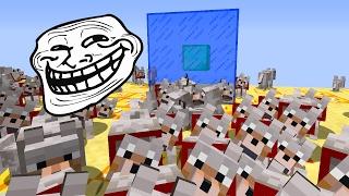 getlinkyoutube.com-Minecraft CUBÃO : TROLLAGEM DO EXERCITO DE LOBO !!! (MINECRAFT TROLL)