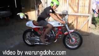 getlinkyoutube.com-Test ride GL  3 cylinder W engine by semangat putra