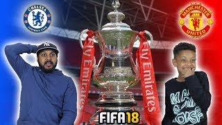 CHELSEA VS MANCHESTER UNITED!! FA CUP FINAL 2018!!