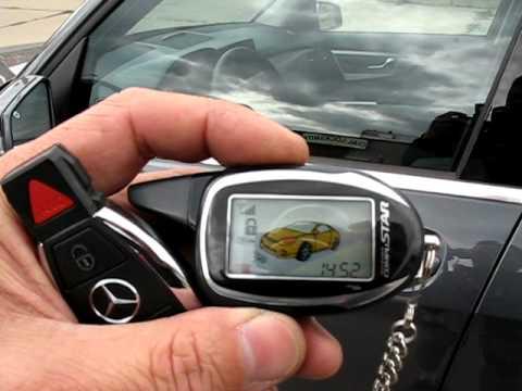 2010 Mercedes GLK Smart Key 2-Way Compustar Starter fxaudio.net