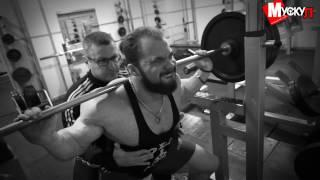 Дыскин Алексей - тренер чемпионов. Тренировка ног