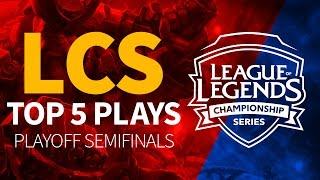 EULCS準決賽中的TOP5精彩PLAY