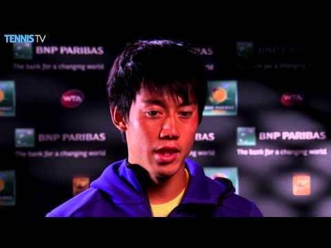 Nishikori Relieves After Isner Win At Indian Wells 2016