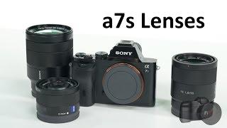 getlinkyoutube.com-Sony a7s Lenses