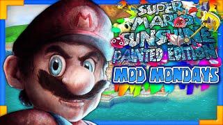 getlinkyoutube.com-Super Mario Sunshine HD Painted Edition - Mod Mondays