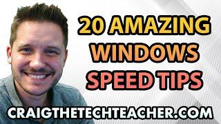 getlinkyoutube.com-20 Amazing Windows 7 Performance Boosting Tips In Under 10 Minutes!
