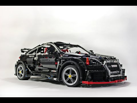 LEGO TECHNIC - Audi TT RS (street racing tuning)