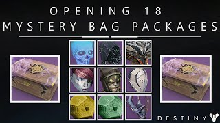 getlinkyoutube.com-Destiny: Opening 18 Mystery Bag Halloween Packages! (Treasues Of The Lost) - All New Amazing Masks
