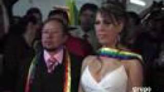 Primera boda transexual en México. Grupo Reforma
