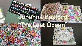 getlinkyoutube.com-The Lost Ocean by Johanna Basford   COMPLETED