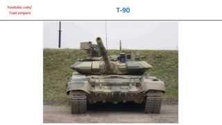 getlinkyoutube.com-T-90 VS M1 Abrams, Tank all specs