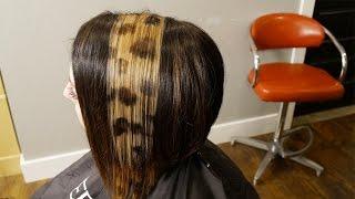getlinkyoutube.com-HOW TO DO LEOPARD PRINT HAIR COLOR