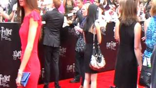 Rupert Grint at the Premiere of Harry Potter and the Deathly Hallows Part 2 in New York - Pt1