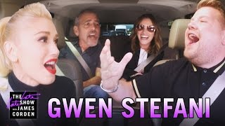 getlinkyoutube.com-Gwen Stefani Carpool Karaoke (w/ George Clooney & Julia Roberts)