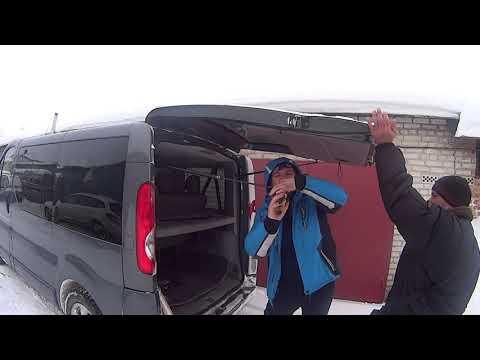 Правильная работа амортизатора задней двери (ляда)