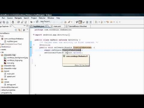 Android Tutorial & Lessons 6: Getting Familiar with Java (intro)