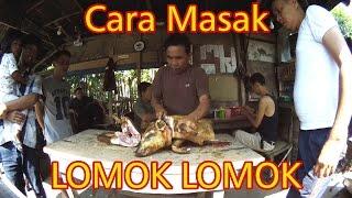 Cara Masak Babi LOMOK LOMOK (Batak Food) - Daging Cincang Ala Lapo Tuak