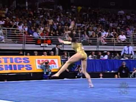 Katie Heenan - Floor Exercise - 2001 U.S. Gymnastics Championships - Women - Day 2