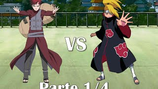 getlinkyoutube.com-Gaara vs Deidara [Full Fight] Sub Español [Parte 1/4]