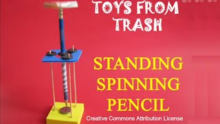 STANDING SPINNING PENCIL -  ENGLISH - 30MB