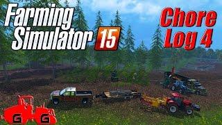 Farming Simulator 15: Chore Log 4 - Chippin' Away!