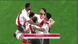 getlinkyoutube.com-River Plate vs Quilmes PES 2014 PS3