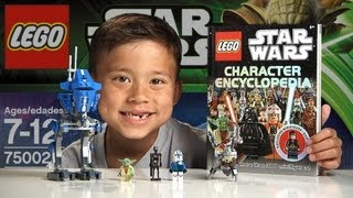 getlinkyoutube.com-AT-RT - LEGO Star Wars Set 75002 & LEGO Minifig Encyclopedia Time-lapse Build, Unboxing & Review