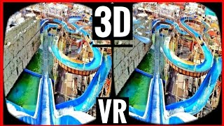 getlinkyoutube.com-Water VR Roller Coaster 3D SBS VR VIDEO 4K [Google Cardboard] Oculus Gear VR Box | Log Flume Ride 3D