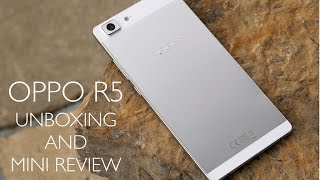 getlinkyoutube.com-Oppo R5 Unboxing and Mini Review!