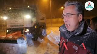 Nevşehir Belediye Başkanı Savran; 'Sabaha kadar burdayız...'