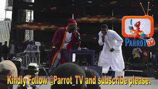 Woli Agba and Dele Perform At Olamide Live In Concert (OLIC4)