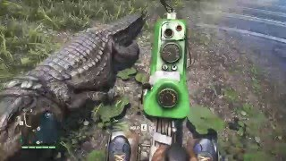 getlinkyoutube.com-Far Cry 4: Messing with a Crocodile