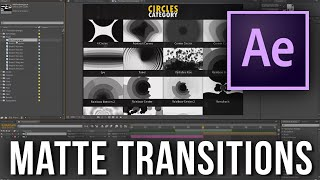 170 transitions Pack - How to use them in After Effects