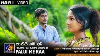 Palui Me Raa - Kolitha Vithanage | Official Music Video