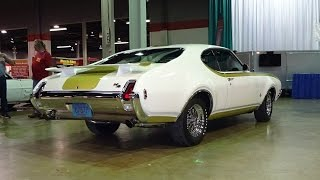 1969 Hurst Olds 442 Oldsmobile & 455 H/O HO Engine Sound on My Car Story with Lou Costabile