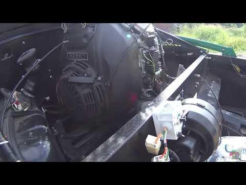 Вентилятор для охлаждения тормозных дисков-суппортов на Пелеце Мини3