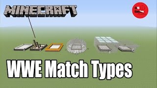 getlinkyoutube.com-Minecraft Creations: WWE Match Types