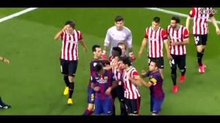 getlinkyoutube.com-Las peleas de Messi,Neymar, Suarez
