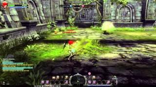 getlinkyoutube.com-Dragon Nest Lv80 Artillery vs Blade Master Detonating Arrow EX & Gust Demensia EX