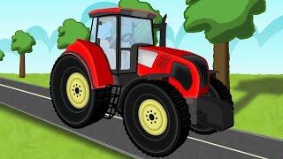 getlinkyoutube.com-☻ Tractor |  the tale of tractors | Bajki dla dzieci o Traktorach ☻