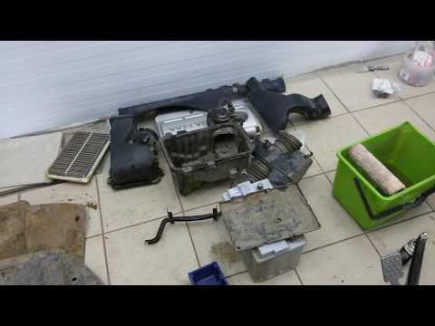 Lexus Rx300. Перегрев двигателя. Замена термостата.