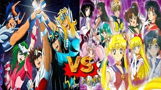 getlinkyoutube.com-Caballeros Del Zodiaco VS Sailor Moon (Comic)