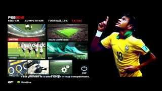 getlinkyoutube.com-PES 2013 (PC) New Menu Style Pes 2016 For Pes 2013