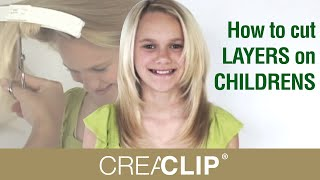 getlinkyoutube.com-How to cut LAYERS on CHILDRENS hair tutorial! Layered hairstyle