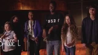 getlinkyoutube.com-Kids United - Sur Ma Route - En duo avec Black M (Lyrics Video - Officiel)